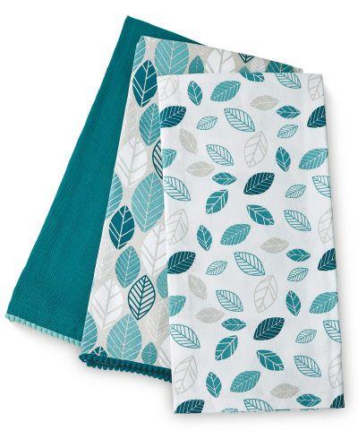 Teal Leaf Tea Towels 3-Pack