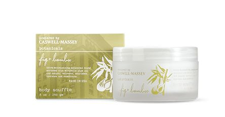 Caswell Massey Botanicals Fig & Bamboo Body Souffle — Giftwerks