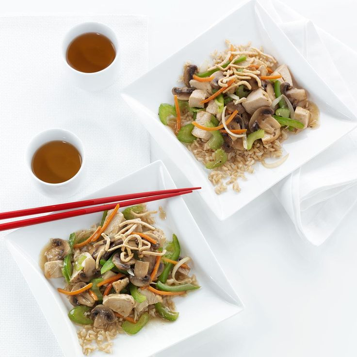 "Chicken Chow Mein Recipe -""When we go out for Chinese food, my husband always orders chicken chow mein. I created this recipe using richer-flavored tamari sauce rather than soy."" —Beth Dauenhauer, Pueblo, Colorado"