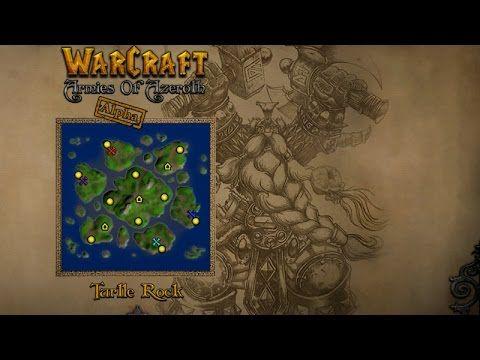 Starcraft 2: Warcraft III Armies of Azeroth Aplha mod Turtle Rock Map