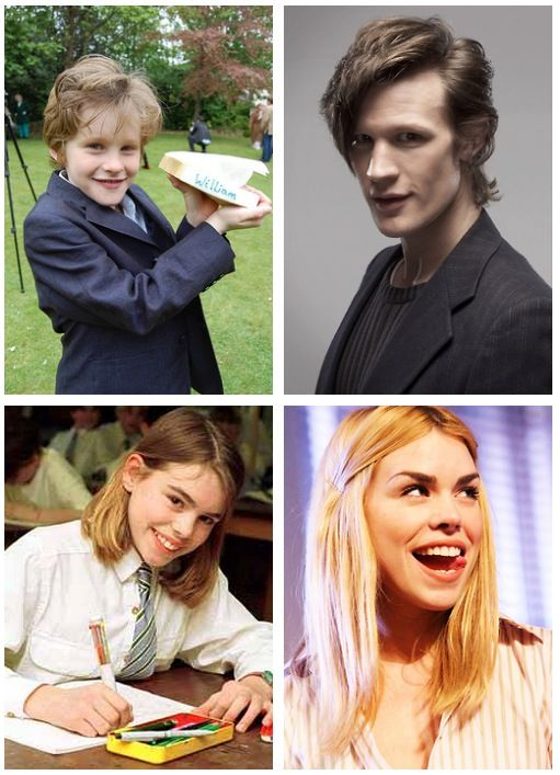 This may be one of the most adorable things I have ever seen. Baby Matt and Billie