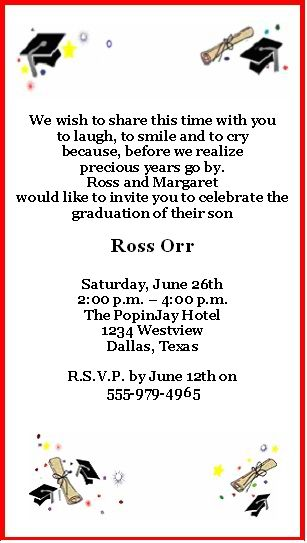 Free Printable Graduation Invitations | How to Personalize Your Free Printable Graduation Party Invitation