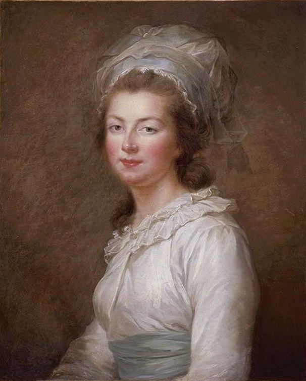 Élisabeth Vigée Le Brun - Elisabeth-Philippe-Marie-Hélène de France, dite Madame Elisabeth (1780)