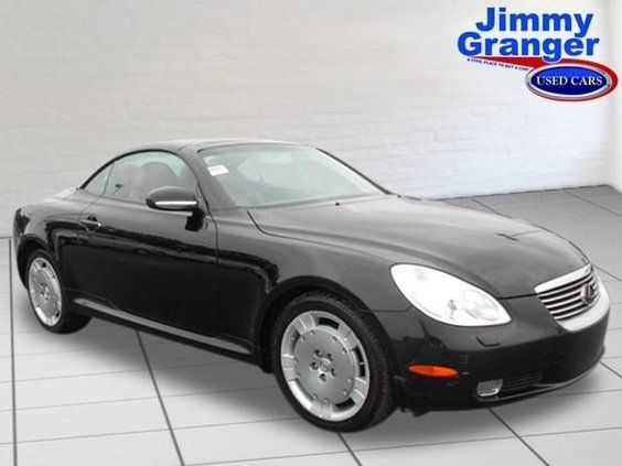 Used 2003 Lexus SC 430 | Live chat with our internet specialists; tell them Maranda sent ya from Pinterest! | #Jimmy #Granger #Ford | #Stonewall | #Shreveport | #BossierCity | #Louisiana #LA #LSU #Cajun | Images shown are for informational purposes only, and may not necessarily represent the actual vehicle, configurable options selected or available on such vehicle. The manufacturer reserves the right to change product specifications, options, or prices at any time