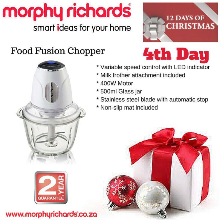 4th Day - Food Fusion Chopper