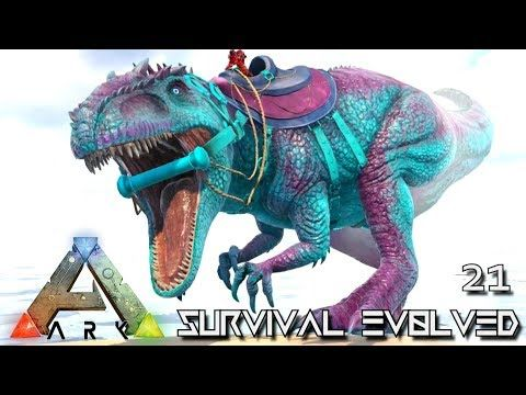 cool ARK: SURVIVAL EVOLVED - NEW GIGANOTOSAURUS FEARLESS