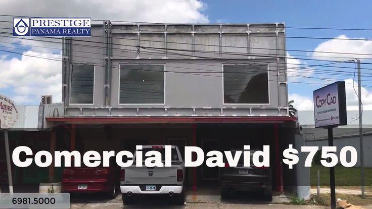 Alquiler de local comercial en el centro de David. Chiriquí Prestige Pan...