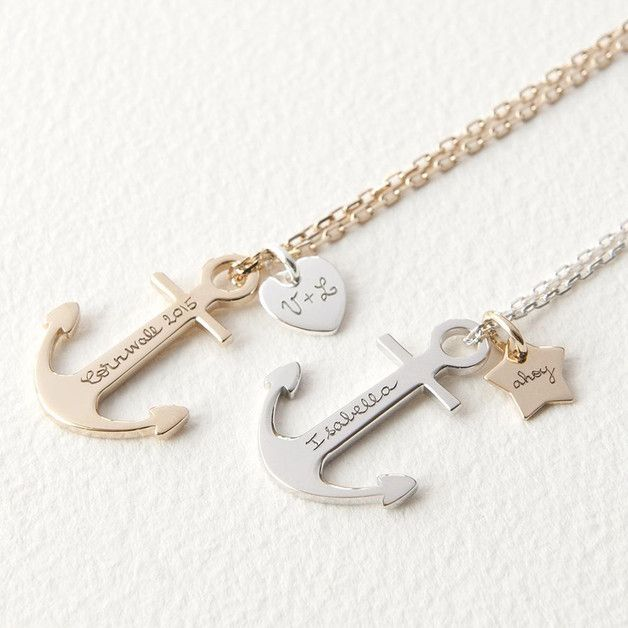 kuhles alte anker wohnzimmer uhren webseite pic oder efebdcde anchor necklace love necklace