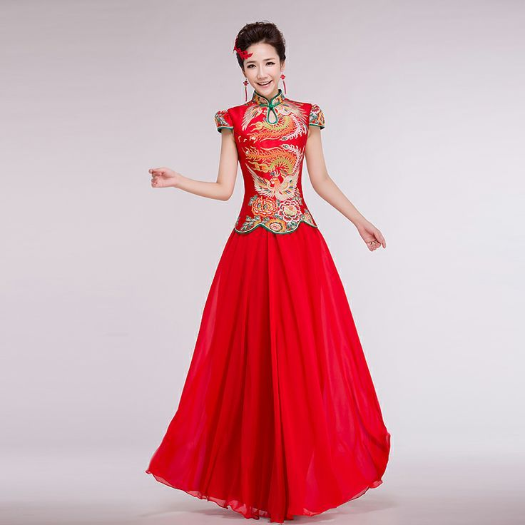 12 best chinese wedding images on pinterest for Wedding dresses in china