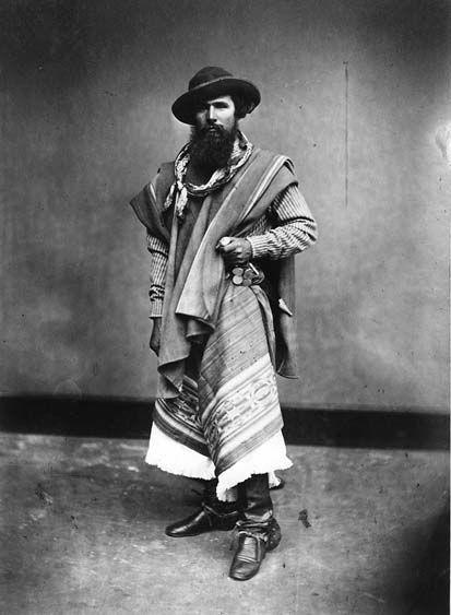 Индейцы гаучо южная америка старое фото