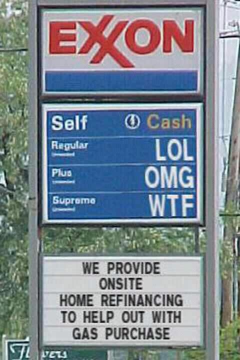 LOVE IT!: Mr. Price, Hand-Held Computer, Gas Price, Funnies Pics, Truths, Electric Cars, Funnies Stuff, True Stories, Funnies Signs