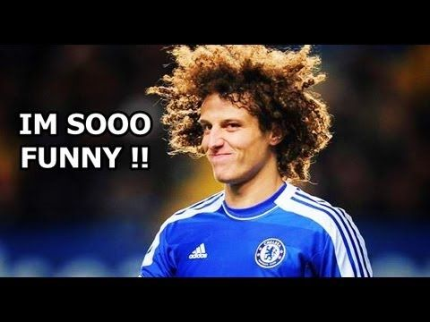 David Luiz - Funny Moments - YouTube