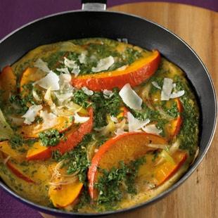 Kürbis Omelett Ohne Kohlenhydrate