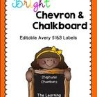 Do you spend a lot of time labeling student folders and supplies? Then these Chevron and Chalkboard Avery Labels are just for you. They fit Avery L...