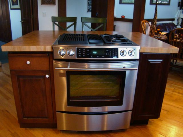 Kitchen Range Islands Countertops Butcher Block Countertops Kitchen Island Counter Tops