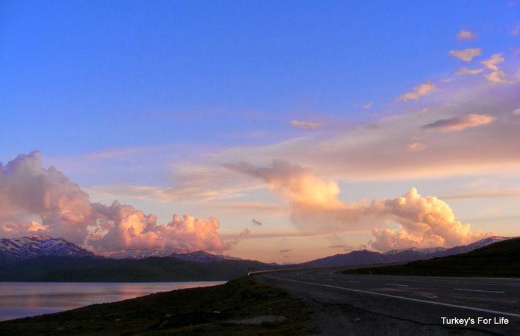 #Van Lake At Sunset