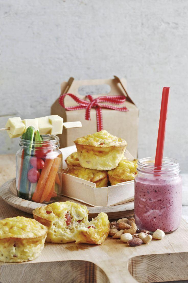 Ham-kaas-en-eier-muffins