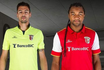 SC Braga 2015/16 Lacatoni Home and Away Kits