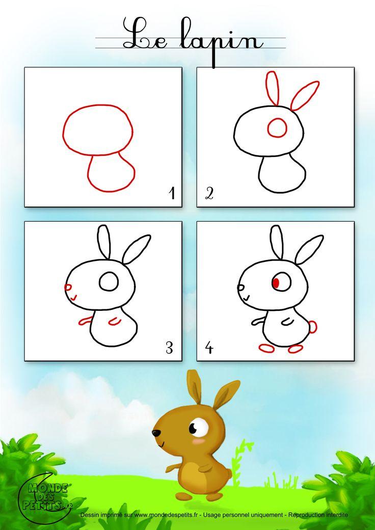 Dessin2_Comment dessiner un lapin ?