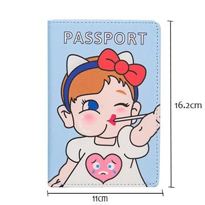 The World's Most Popular Latest Passport Cover,PU Leather Size is Suitable For The Passport Holder Of Each Country 14.1*11.3CM