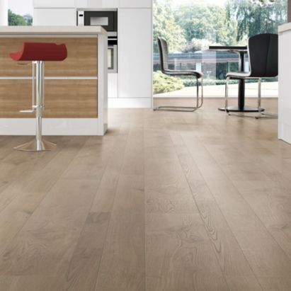 Colours Coda Light Natural Cream Oak Effect Laminate