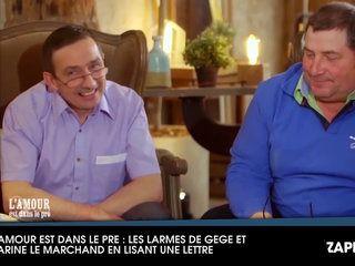 L'amour est dans le pré : Karine Le Marchand émue face aux larmes de Gégé (vidéo)