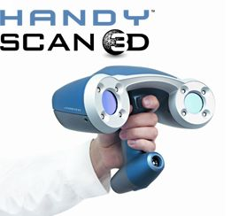 Portable 3D Scanners for 3D Scanning | Handyscan 3D and MetraSCAN 3D by Creaform