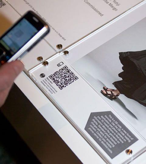 QR-Codes im Museum