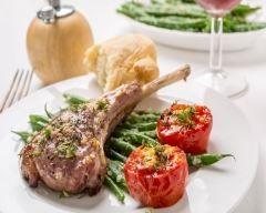 Côtelettes d'agneau, sauce à l'ail et au thym | Cuisine AZ