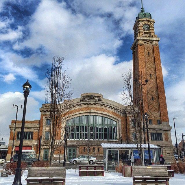 West Side Market, Cleveland. Photo courtesy of dangerousbiz on Instagram.