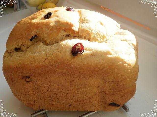 Kochanie przez gotowanie: Wyrośnięta drożdżówka (z automatu do chleba!)