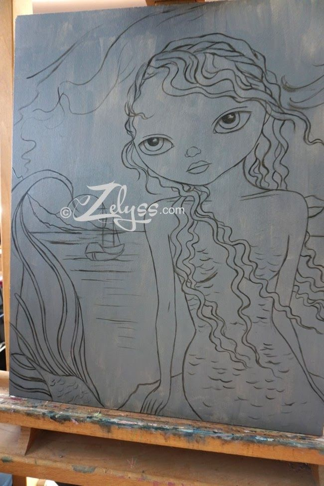 Zelyss: A bit of a WIP : Mermaid...