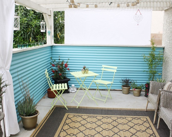 Corrugated Steel Siding Design, Pictures, Remodel, Decor and Ideas - page 10