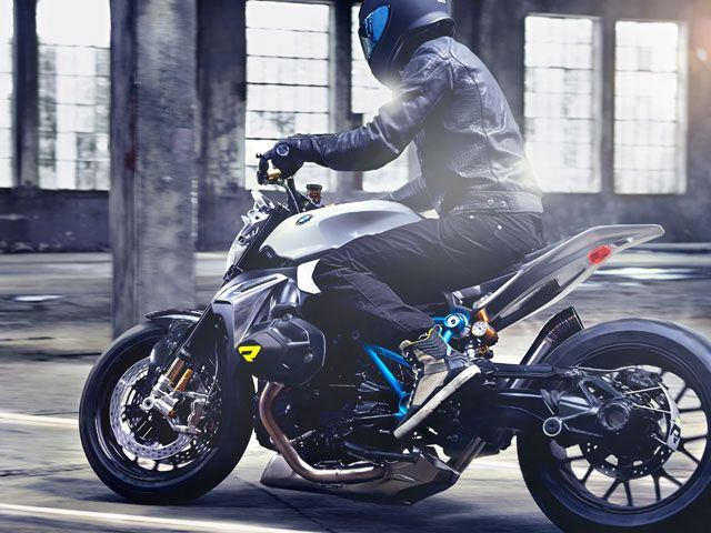 BMW Concept Roadster — a modern interpretation of a classic BMW motorcycle with boxer engine that demonstrated just how emotional a 90-year BMW Motorrad retrospective can be