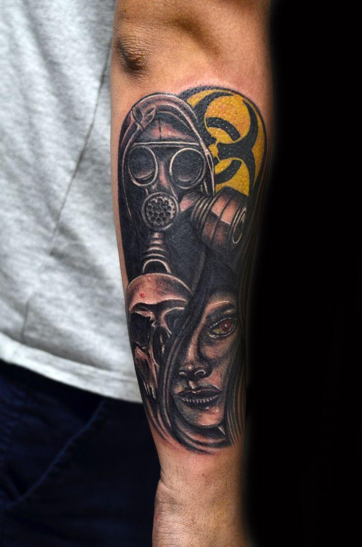 Biohazard tattoo - Thiago Padovani