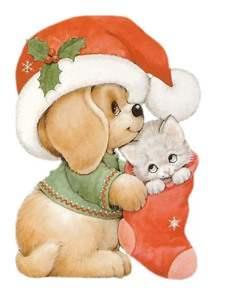 Printable - Cat and Dog - Ruth Morehead