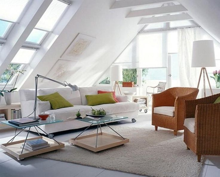10 Best Ideas About Attic Living Rooms On Pinterest