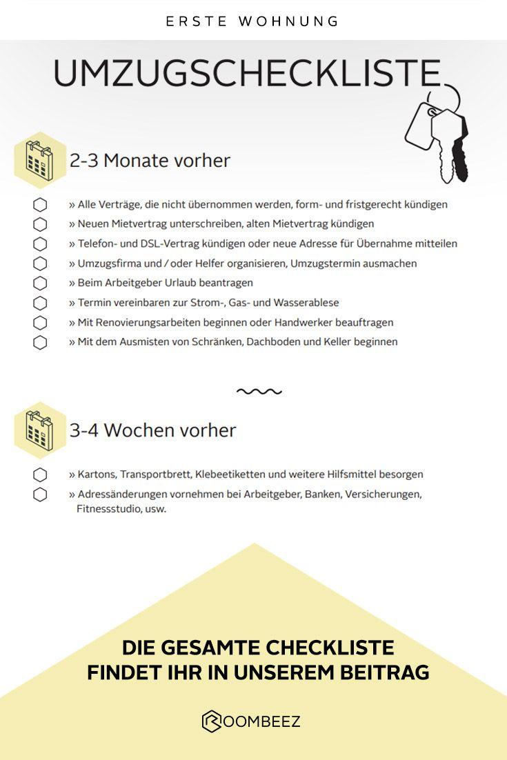 Umzugs Checkliste Kostenloses Pdf Zum Download In 2020 Umzugscheckliste Umzug Checkliste Umzug Tipps
