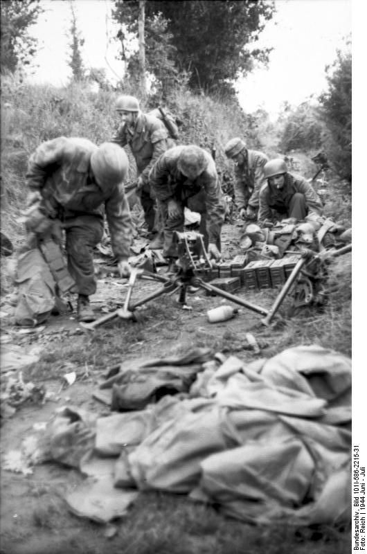 Bundesarchiv Bild 101I-586-2215-31, Frankreich, Normandie, Fallschirmjäger - Category:Battle of Normandy - Wikimedia Commons