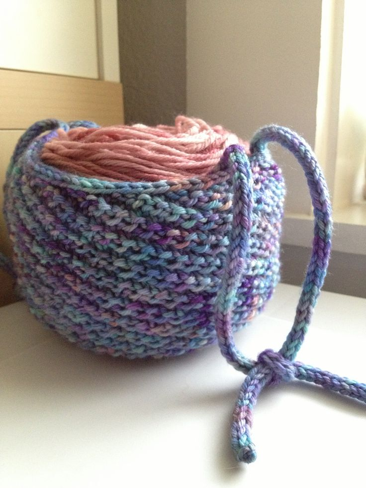 Knitting Yarn Holder : Best images about free knitting patterns on pinterest