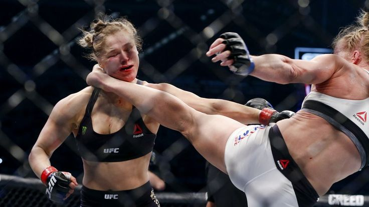 Watch the full video of Holly Holm's historic upset of Ronda Rousey from UFC 193 in Melbourne, Australia, here.