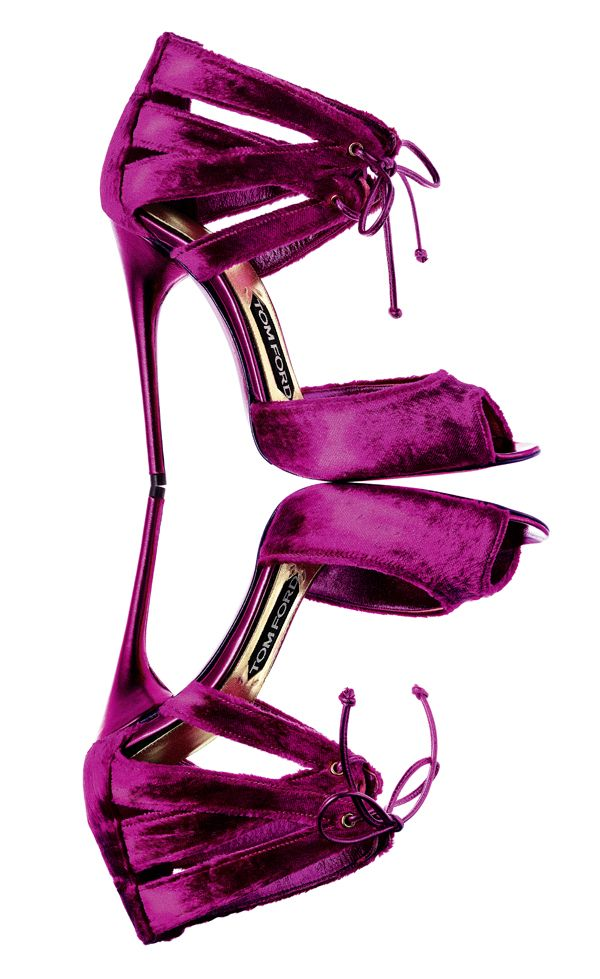 I have these Tom Fords in my closet in a deep aubergine.  They will be making their big debut on my toes next month in Monte Carlo!