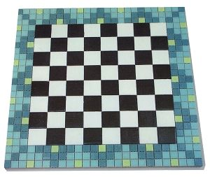 Free Mosaic Patterns for Beginners   checkerboard from beginners guide to mosaics beginner doesn t have to ...