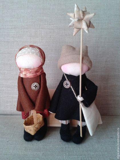 Народные куклы ручной работы. Ярмарка Мастеров - ручная работа Христославы. Handmade.