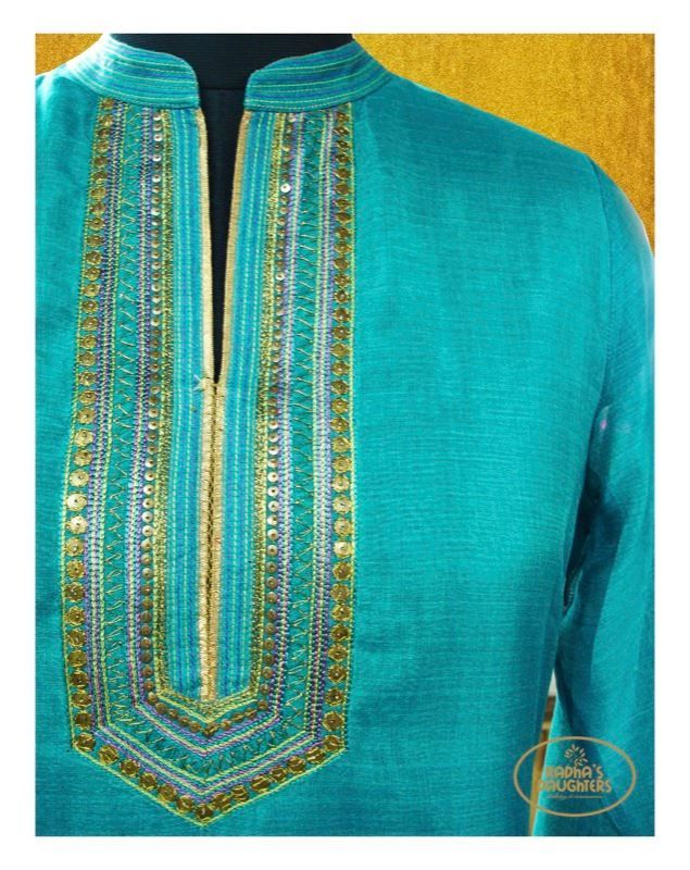 Blue Kurta #GotaPatti #Indian #EthnicFashion #FestiveStyle