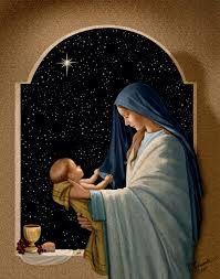 The Star & the Eucharistic signs: Bread & Wine