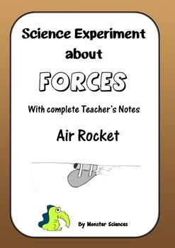 Science Experiment about Gravity - Air Rockets
