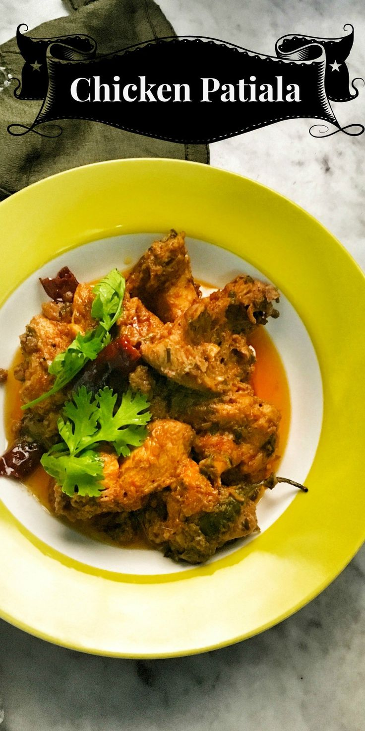Chicken Patiala or Murg Patiala is curry from the land of Punjab. Cooked in fragrant spices this dish is served with cha…