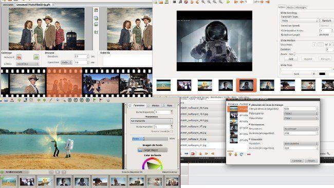 Cuatro programas para hacer vídeos a partir de fotografías en Ubuntu