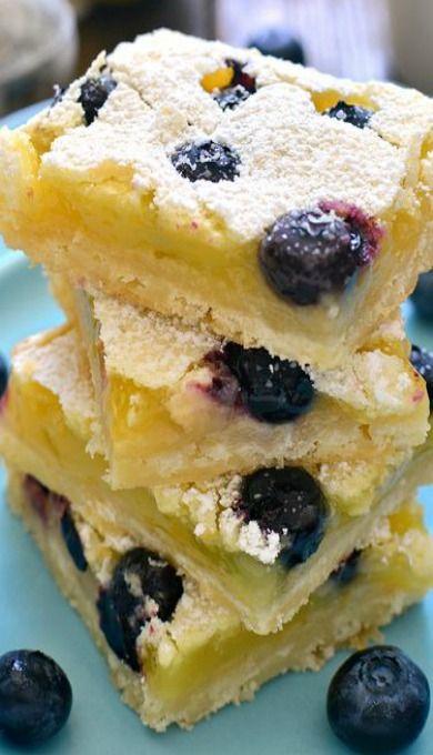 Blueberry Lemon Bars                                                                                                                                                                                 More